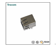 We 7499111446 Trxcom 1000base T Tab Down Rj45 Magjack