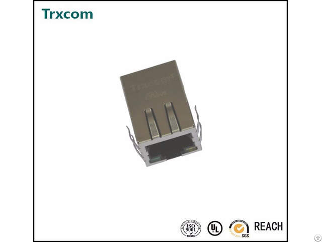 Trj1216cnl 10 100base T Rj45 Ethernet Connector
