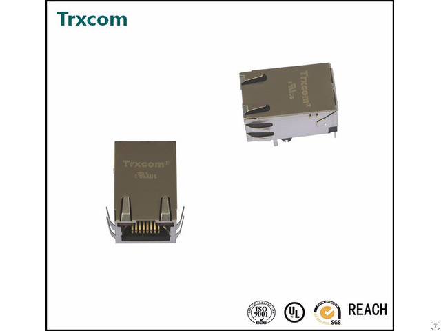 We 7499010121a Single Port Rj45 Connector
