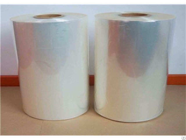 Standard Size Center Folded Pof Shrink Film
