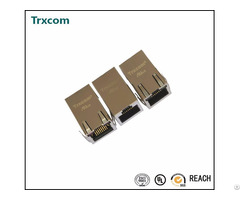 Hr911105a Single Port Rj45 Ethernet Connector