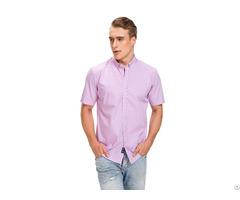 Short Long Sleeve Cotton Men Shirt