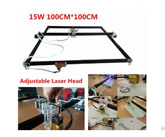 15000mw Laser Engraver Machine 100 X100cm Working Area Desktop Home Use Metals Carving