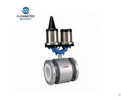 Battery Powered Electromagnetic Water Flow Meter