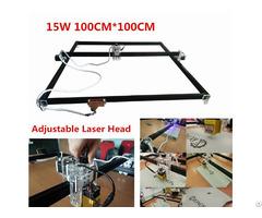15000mw Laser Engraver Machine 100 X100cm Working Area Desktop Home Use Metals Carving