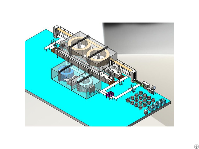Loaf Bread Making Machine Production Line