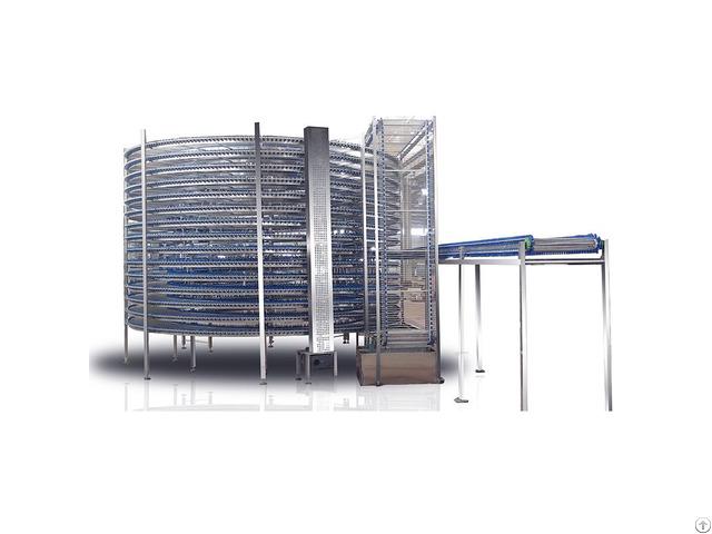 Spiral Cooling Conveyor