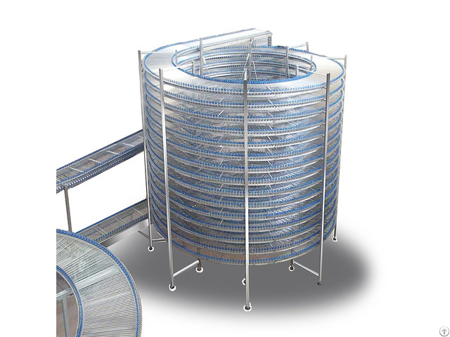 Bread Spiral Cooling Tower