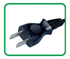 Pse Approved 2 Pins Japanese Plug Xr 603a
