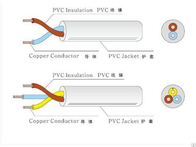 Vde Approved Flexible Cable Pvc H05vv F H05v2v2