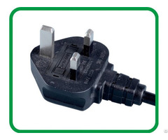 Asta Uk Plug Bsi Fuse 3 Pins Xr 318a