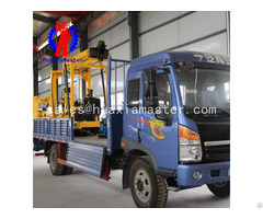 Xyc 3 Vehicle Mounted 600m Depth Hydraulic Rotary Diamond Core Water Well Drilling Rig