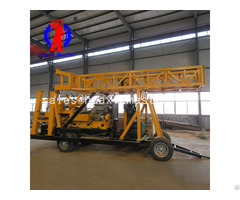 Deep Borehole In Complex Rock Formation Xyx 44a Wheeled Hydraulic Core Drilling Rig