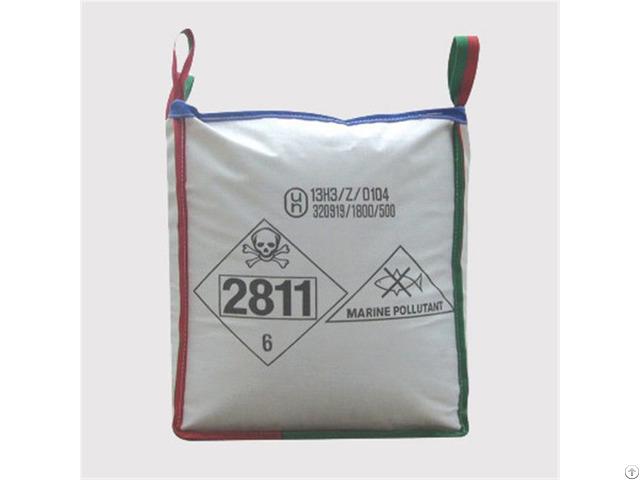 Fibc 500kg Un U Panel Jumbo Bag 100% Virgin Pp Resin