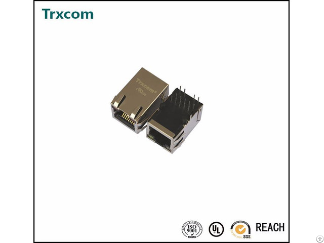 Trjk0017ainl Tab Up With Led Rj45 Connector