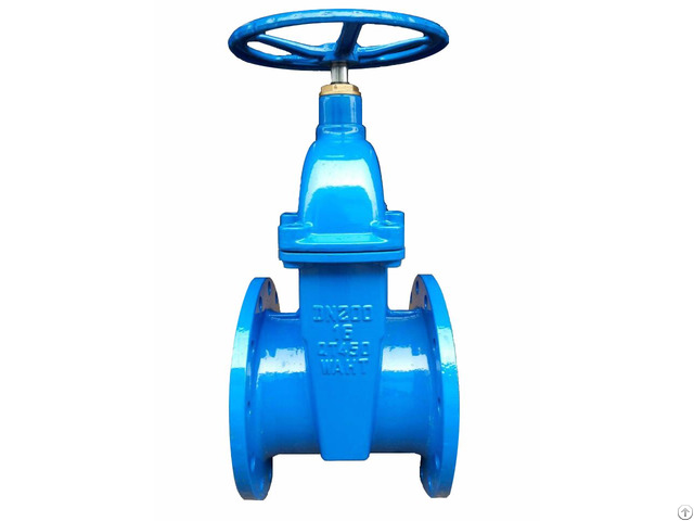 Bs Non Rising Stem Resilient Seatd Gate Valve