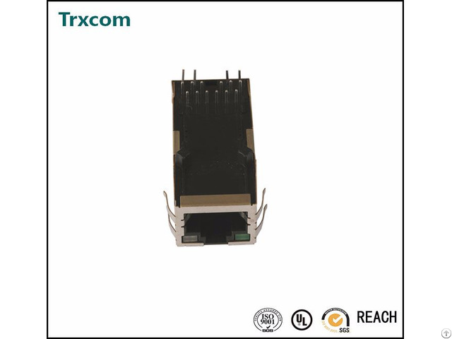 Trjk0071ainl Single Port Tab Up Rj45 Connector