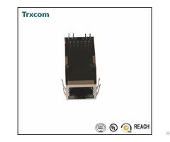 Trjk0071ainl Single Port Tab Up Rj45 Connector