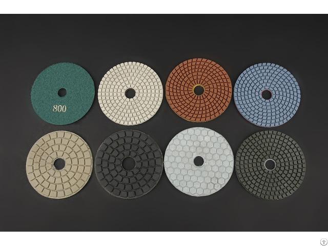 Flexible Diamond Polishing Pads