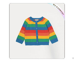 Girls Rainbow Cardigan