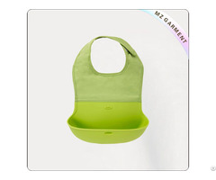Baby Green Food Inspired Bib