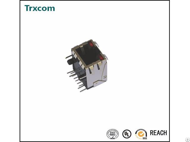 Trj0025abnl Rj45 Modular Jack