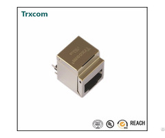 Pulse Trjd0011dnl Vertical Rj45 Connector