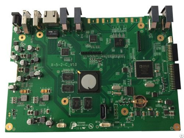 Smt With Lead Free And Nitrogen Dip Bga Pcb Fr4 Components Procurement Pcba Test