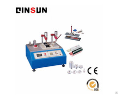 Alcohol Abrasion Tester For Surface Coating Supplier