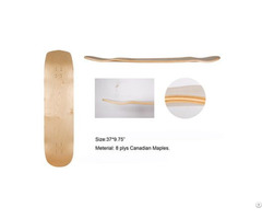 China Professional Manufacturer Hot Sale Canidian Maple Longboard Deck Skateboard