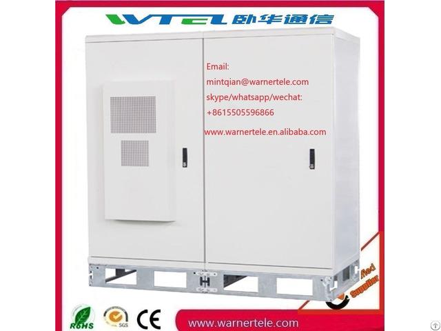 Fan Cooling Power Telecom Equipment Outdoor Rack Cabinet