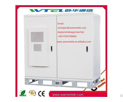 Fan Cooling Power Telecom Equipment Outdoor Rack Cabinet
