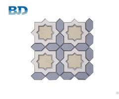 Kalani Water Jet Glass Mosaic Tile