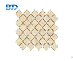 Gold Color Glass Mosaic Tile