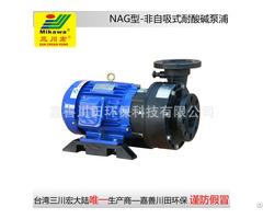 Non Self Priming Pump Nag100152 Frpp