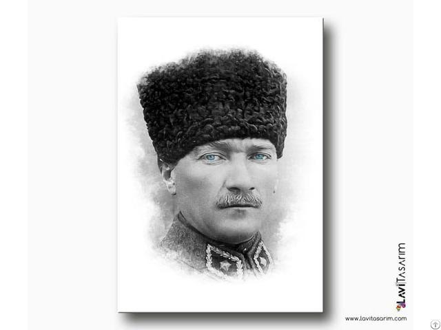 Atatürk Kanvas Tablo