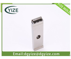 Vacuum Heat Treatment Connector Mould Parts Produced By Dongguan Yize Mold