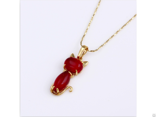 Real Ruby Pendants Customized Jewelry Manufacturer 925 Sterling Silver
