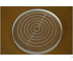 Vacuum Chuck Of Quartz Or Ceramics With Custom Vias Distribution From 10um To 1mm