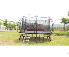Outdoor Springless And Indoor Trampoline Park 8 Feet