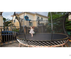 Double Bounce Trampoline With Accessories