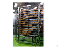 Industrial High Quality Stainless Steel Factory Price Spiral Cooling Tower For Bakery Manufacture