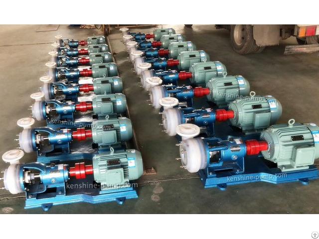 Fsb Fluorine Plastic Fep Chemical Transfer Pump