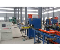 Semi Automatic Cnc Hydraulic Punching And Marking Machine For Angle Model Yc160