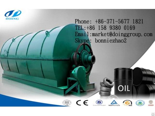 Waste Tire Pyrolysis Plant