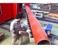 Pipe Conveying System For Cutting And Beveling Machine