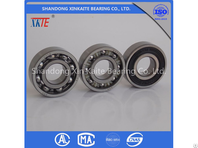 Xkte Brand Nylon Retainer 6204tn C3 Conveyor Roller Bearing Distributor From China