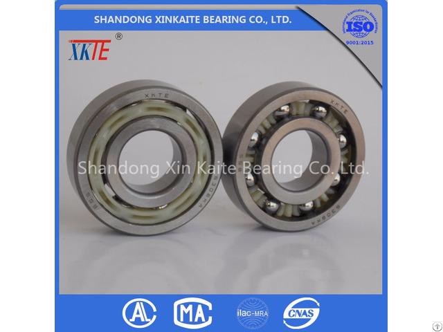 Xkte Brand Nylon Retainer 6306tn C3 Conveyor Idler Bearing For Mining Machine Made In China
