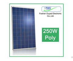 Factory Price 250w Poly Solar Panel For Home Pv Module