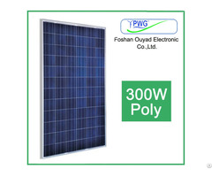 High Efficiency 300w Poly Solar Panel For Home Power System Use